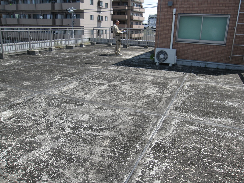 東京都足立区 T社様 屋上ウレタン防水工事
