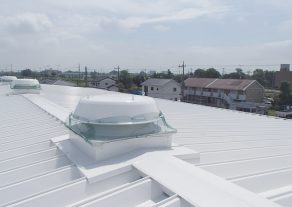 埼玉県さいたま市 工場 屋根遮熱塗装工事