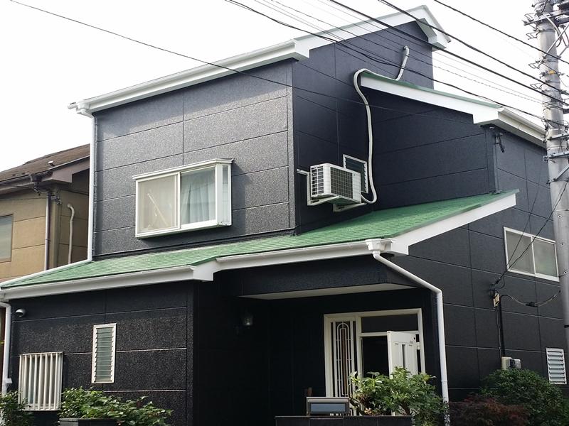 東京都足立区 M様邸 サイディング塗装