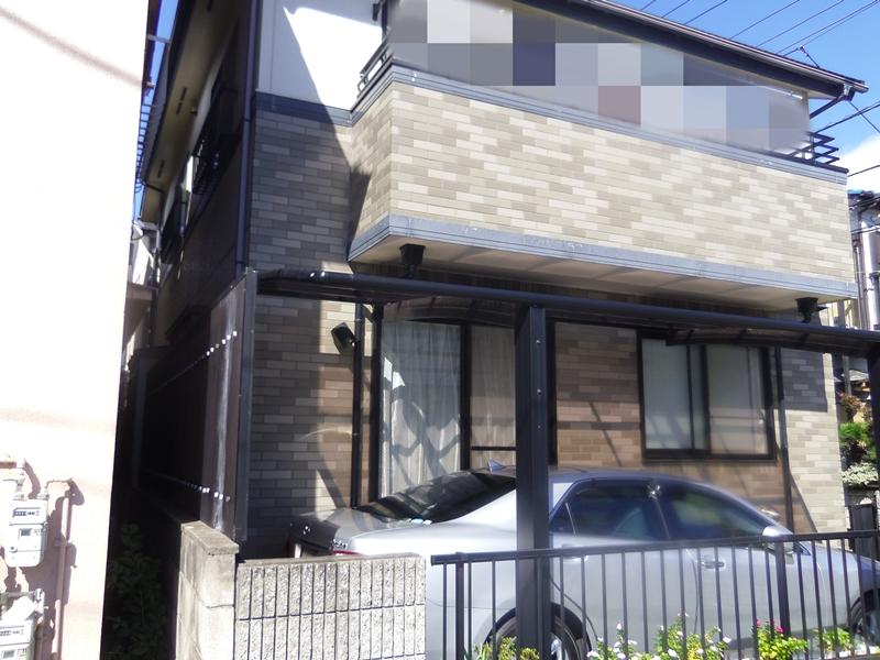 東京都足立区 I様邸 外壁塗装工事