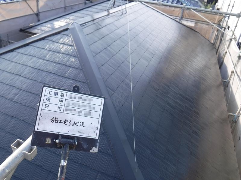 東京都足立区 E様邸 屋根板金交換 屋根塗装工事