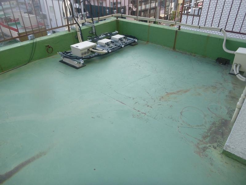 東京都墨田区 某ビル屋上 ウレタン防水