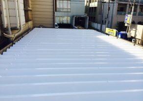東京都 S様邸 トタン屋根塗装工事