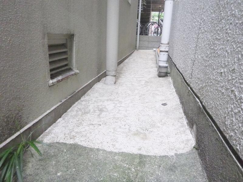 東京都台東区 ビル 基礎土間廻り ウレタン防水工事